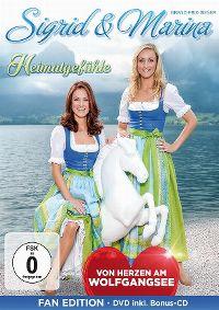 Cover Sigrid & Marina - Heimatgefühle - Von Herzen am Wolfgangsee [DVD]